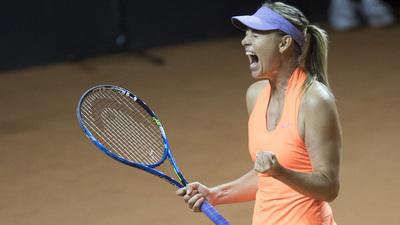 María Sharapova y su retorno triunfal al tenis