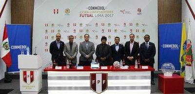 Conforman grupos de la Copa Libertadores Futsal
