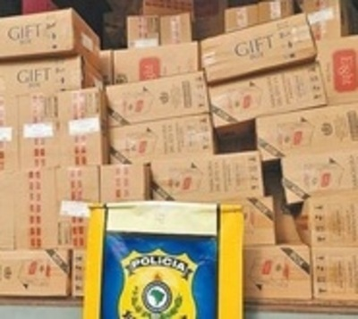 Caen cigarrillos de Tabesa por contrabando en Brasil