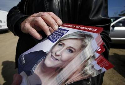 Macron 59% – Le Pen 41%, hoy debate en TV