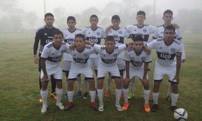 Sub 16: Nacional frenó a Cerro Porteño