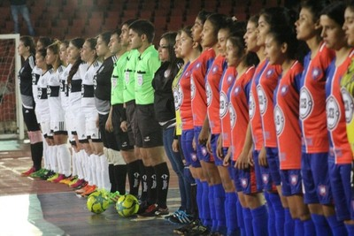 Comenzó el torneo oficial de Futsal Femenino con festival de goles