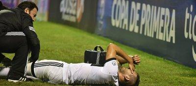 José Cañete será baja en Olimpia por cuatro semanas