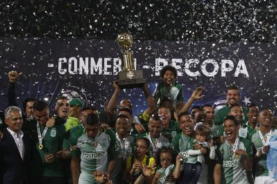 Atlético Nacional es campeón de la Recopa
