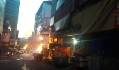 Otra vez fuego en Ciudad del Este: controlan principio de incendio