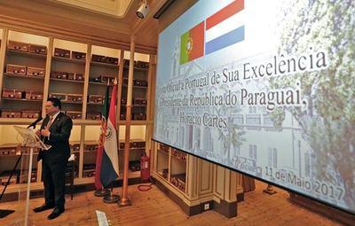 Autoridades nacionales expusieron sobre Paraguay en Portugal