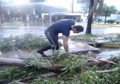 Asunción: puntos críticos tras el fuerte temporal