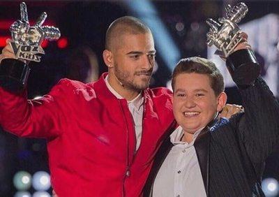 Maluma contó quién ganaba el concurso