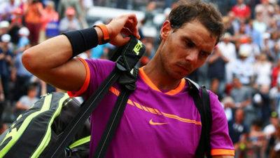 Nadal está eliminado del Masters 1000 de Roma.