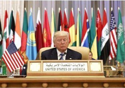 Trump pronuncia discurso ante líderes de Medio Oriente