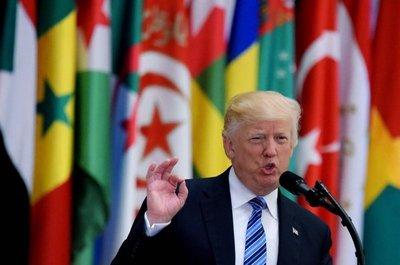 Trump pide a los países musulmanes luchar unidos contra el extremismo