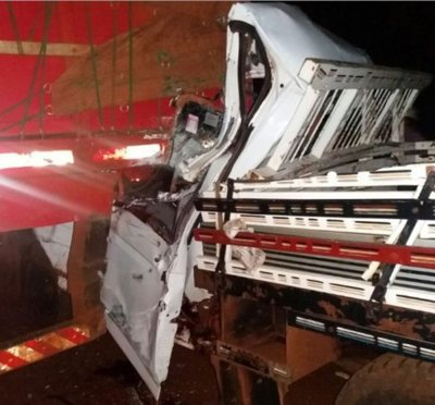 Fatal accidente en Canindeyú