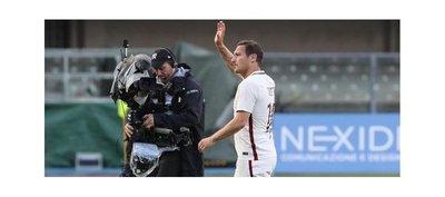 Totti anuncia que jugará el domingo su último partido con la Roma