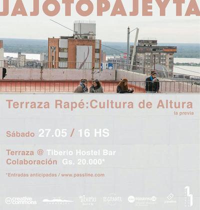 Ofrecen nueva edición de Terraza Rapé