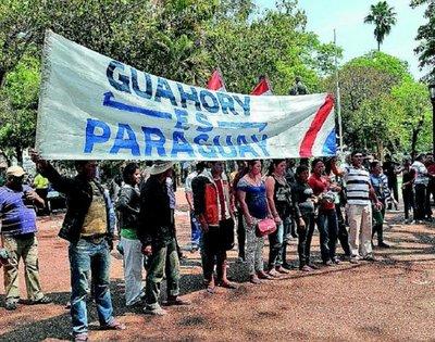 Denunciarán ante CIDH violación de derechos en Guahory