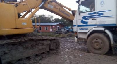 Conflicto por obras en tramo