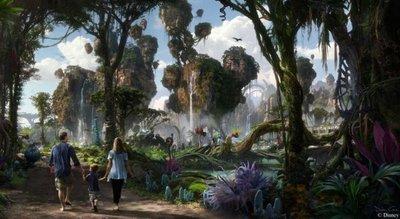 Pandora, el parque que recrea el mundo de Avatar, abre sus puertas
