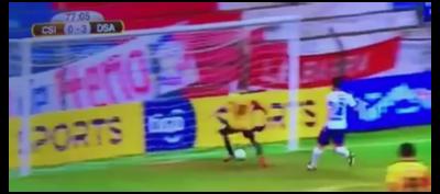 La peor forma de fallar un gol y ocurrió en Paraguay