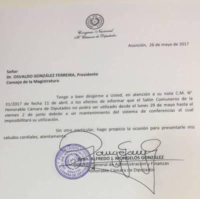 Suspenden audiencias para elegir fiscal general