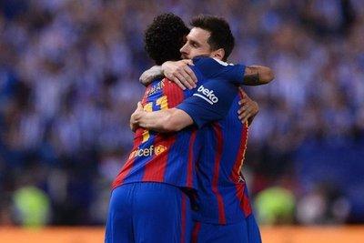 El Barcelona se consuela