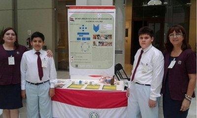 Niños paraguayos son premiados en México
