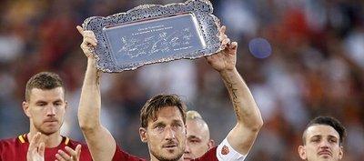 Totti, el Capitano que representará eternamente al Roma