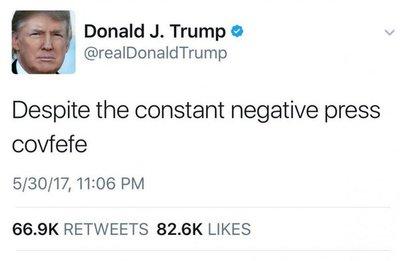 Tuit de Trump causa burla en las redes sociales