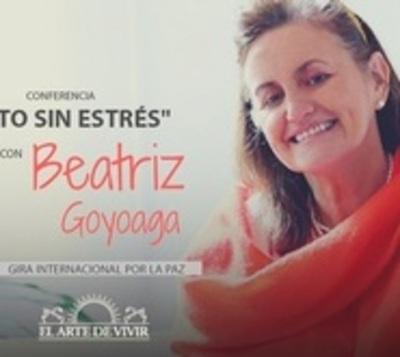"""Conferencia de Beatriz Goyoaga, instructora del """"Arte de Vivir"""""""