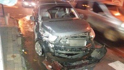 Calé Galaverna sufrió un accidente