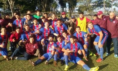 Cerro Porteño campeón de la categoría Sub 19
