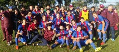 Cerro Porteño es el campeón en la categoría Sub 19