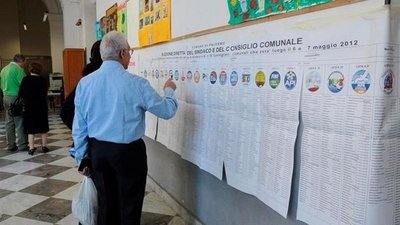 Italia celebra elecciones para renovar 1.004 ayuntamientos