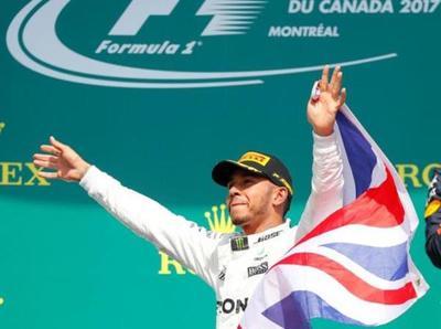 Hamilton lideró Canadá y se consagra en el podio