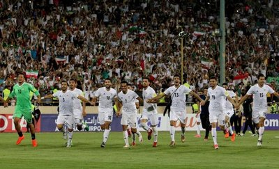Irán se clasifica para el Mundial de Rusia 2018