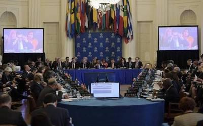 OEA vuelve a suspender sesión sin acordar sobre crisis venezolana