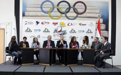Lanzamiento oficial del 50° Campeonato Sudamericano de Atletismo