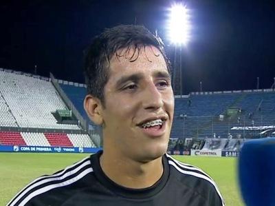 Jorge Colmán fue el más importante del partido