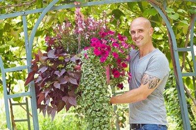Los jardines colgantes están de moda