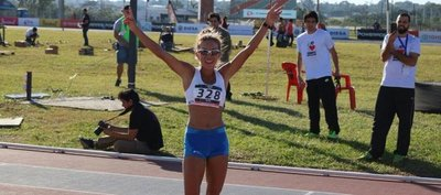 Carmen Martínez es campeona sudamericana