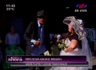 """""""San Juan dice que sí"""" en el Mercado 4"""