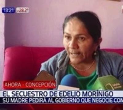 Madre de Edelio pedirá negociación con EPP para recuperar a su hijo