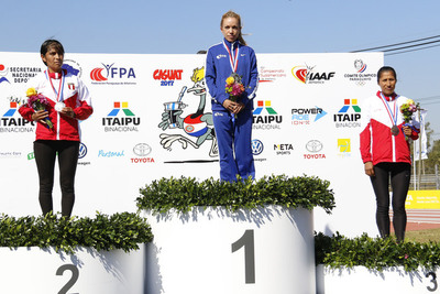 Paraguay recibe el Sudamericano de Atletismo con medalla de oro