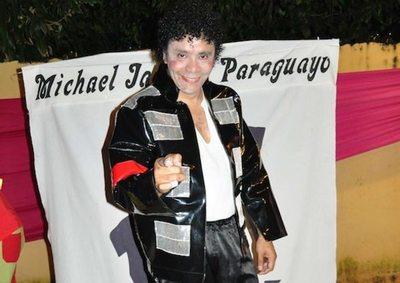 Michael Jackson paraguayo, en pleno homenaje