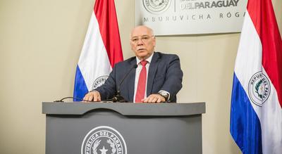 Canciller paraguayo viajará a España