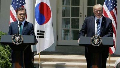 Trump y Moon Jae-in mantienen alianza