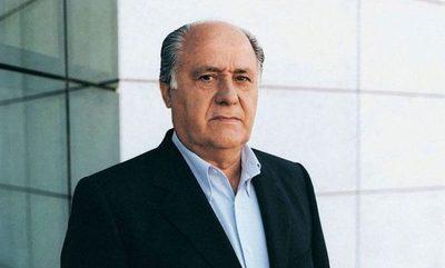 Amancio Ortega con la mayor fortuna de Europa