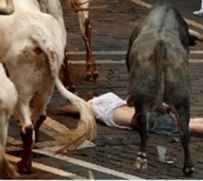 Heridos de gravedad en segundo día de las festividades de San Fermín