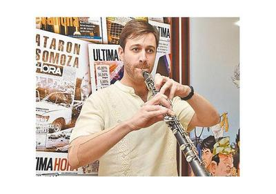 Oboísta español toca mañana con la Sinfónica Nacional