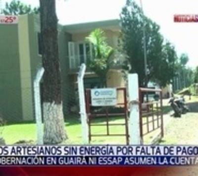 Guairá: Essap y Gobernación no asumen deuda y dejan sin agua a vecinos