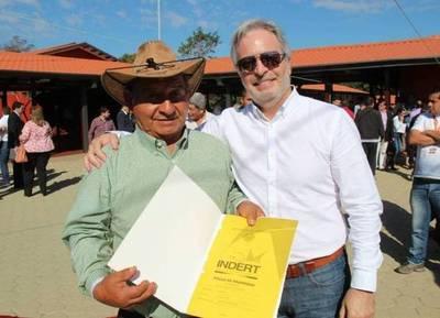 El INDERT entregará casi mil certificados de adjudicación en Alto Paraná